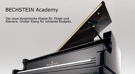 Pianos de la línea Academia de Bechstein