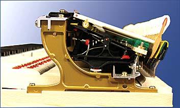 El mecanismo del piano Millennium 3 de Kawai