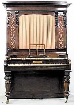 Piano Stodart vertical