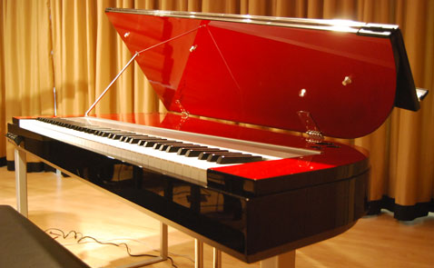 El piano Yamaha Modus