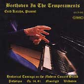 Beethoven in the temperaments