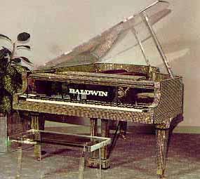 El piano Baldwin de Liberace