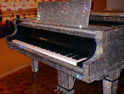 Piano Bob Liberace museo
