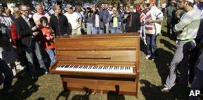 El piano de John Lennon