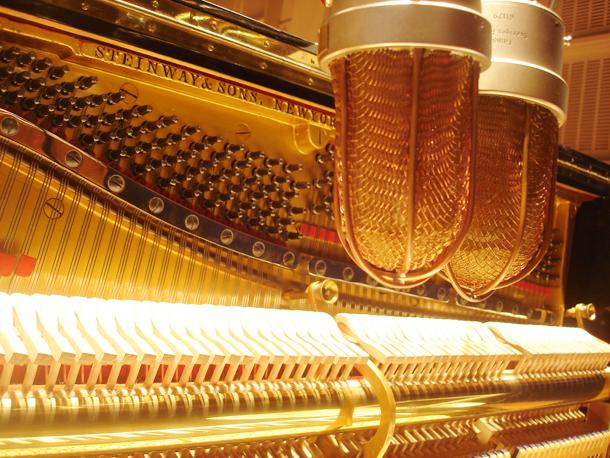 Sampleando el sonido de un piano