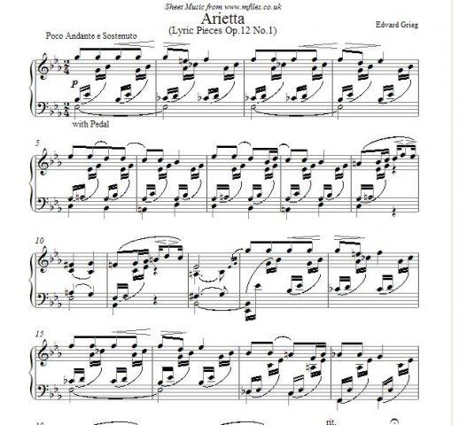 Primeras lecciones de música.