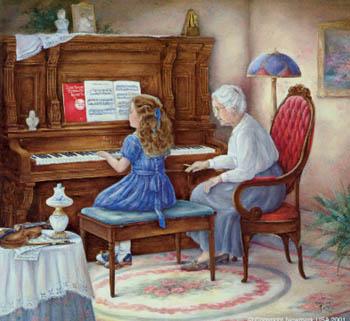 Consejos sobre lecciones de piano.