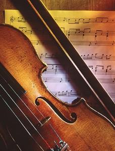 El sonido del violín