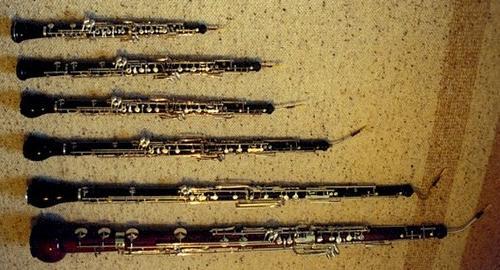 La familia de los oboes