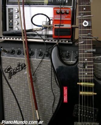 una guitarra preparada