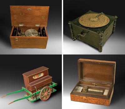 Algunos instrumentos mecánicos