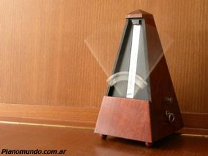 el metronomo en funcionamiento