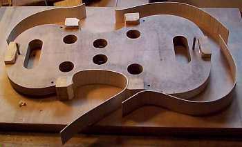 laterales del violin